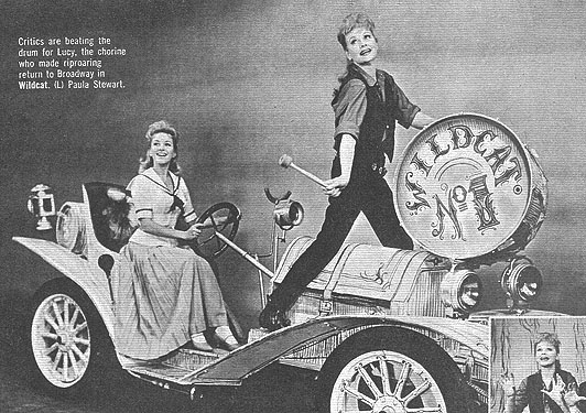 Lucille Ball on broadway